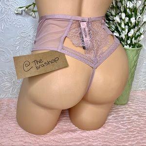 S M Victoria's Secret High Waist Thong Panty